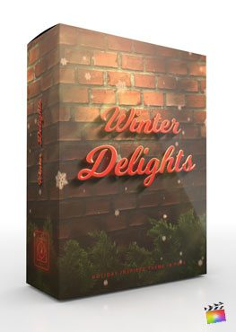 Winter Delights - Holiday Theme for FCPX- Pixel Film Studios