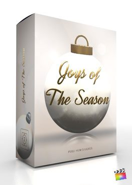 Final Cut Pro X plugin Joys Of The Season from Pixel Film Studios