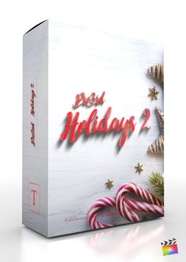 Final Cut Pro X plugin Pro3rd-Holidays-Vol-2 from Pixel Film Studios