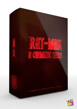 Final Cut Pro X Theme Rat-Man from Pixel Film Studios