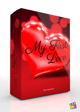 Final Cut Pro X Theme My First Love from Pixel Film Studios