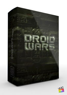 Final Cut Pro X Plugin Droid Wars from Pixel Film Studios