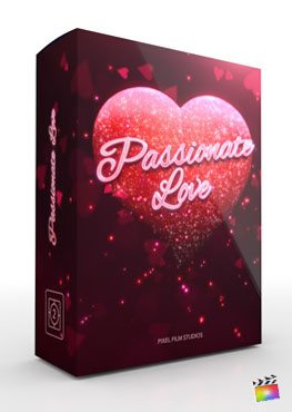 Final Cut Pro X plugin Passionate Love from Pixel Film Studios