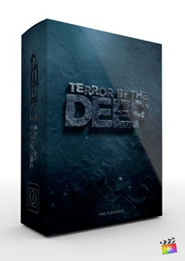 Final Cut Pro X Theme Terror in the Deep from Pixel Film Studios