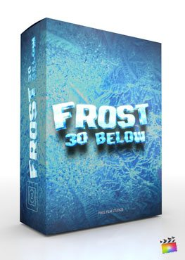 Final Cut Pro X Theme Frost from Pixel Film Studios