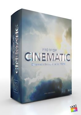 Final Cut Pro X Plugin ProDrop Cinematic from Pixel Film Studios
