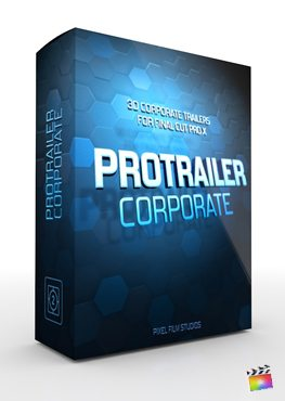 Final Cut Pro X plugin ProTrailer Corporate from Pixel Film Studios
