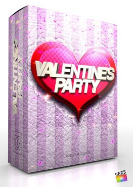 Final Cut Pro X Theme Valentines Party from Pixel Film Studios