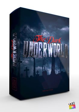 Final Cut Pro X Theme The Dark Underworld from Pixel Film Studios