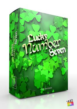 Final Cut Pro X Theme Lucky Number Seven from Pixel Film Studios