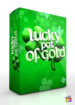Final Cut Pro X Theme Lucky Pot of Gold from Pixel Film Studios
