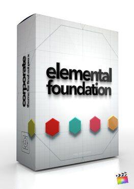 Final Cut Pro X Plugin Elemental Foundation from Pixel Film Studios