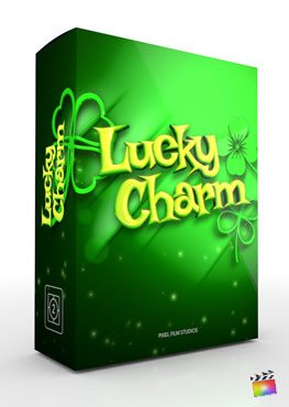 Final Cut Pro X Theme Lucky Charm from Pixel Film Studios