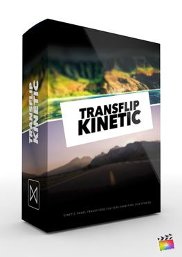Final Cut Pro X Transition Transflip Kinetic