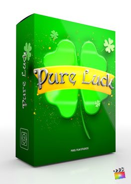 Final Cut Pro X Theme Pure Luck from Pixel Film Studios