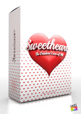 Final Cut Pro X Theme Love Charm Sweetheart