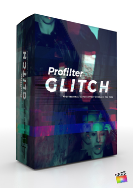 Final Cut Pro X Plugin ProFilter Glitch from Pixel Film Studios