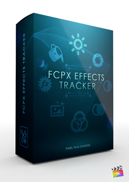 Final Cut Pro X Plugin FCPX Effects Tracker from Pixel Film Studios