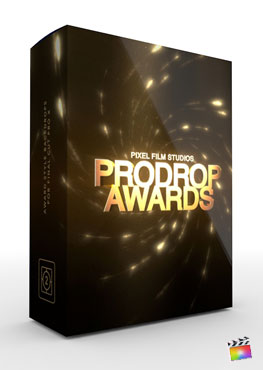 Final Cut Pro X Plugin ProDrop Awards from Pixel Film Studios