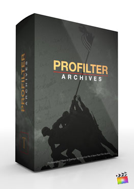 Final Cut Pro X Plugin ProFilter Archives from Pixel Film Studios