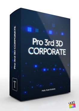 Final Cut Pro X Plugin Pro3rd 3D Corporate from Pixel Film Studios