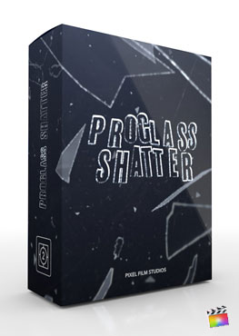 Final Cut Pro X Plugin ProGlass Shatter from Pixel Film Studios