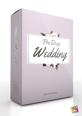 Final Cut Pro X Plugin ProDrop Wedding from Pixel Film Studios
