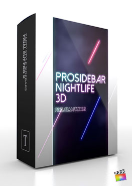 Final Cut Pro X Plugin ProSidebar Nightlife 3D from Pixel Film Studios