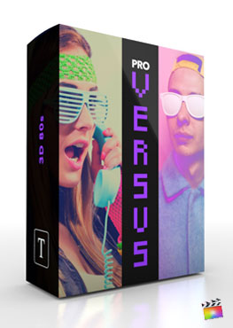Final Cut Pro X Plugin ProVersus 3D 80s from Pixel Film Studios