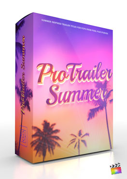 Final Cut Pro X Plugin ProTrailer Summer from Pixel Film Studios