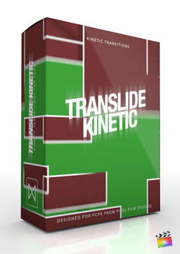 Final Cut Pro X Transition TranSlide Kinetic from Pixel Film Studios