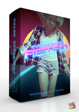 Final Cut Pro X Plugin ProFreeze Retro from Pixel Film Studios