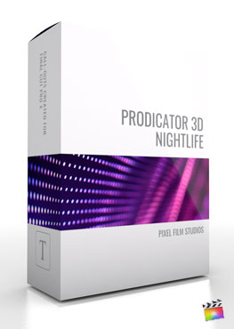 Final Cut Pro X Plugin ProDicator 3D Nightlife from Pixel Film Studios
