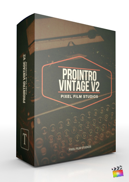 Final Cut Pro X Plugin ProIntro Vintage Vol.2 from Pixel Film Studios