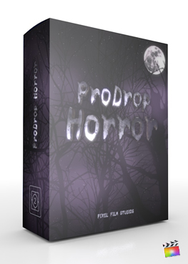 Pixel Film Studios ProDrop Horror for Final Cut Pro X