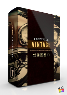 Final Cut Pro X Plugin ProDivide Vintage from Pixel Film Studios