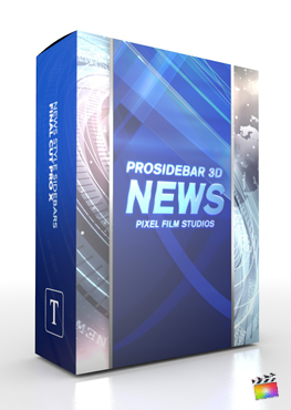 Final Cut Pro X Plugin ProSidebar 3D News from Pixel Film Studios