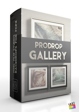 Final Cut Pro X Plugin ProDrop Gallery from Pixel Film Studios