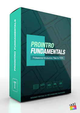 Final Cut Pro X Plugin ProIntro Fundamentals from Pixel Film Studios