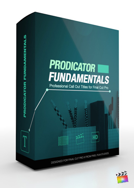 Final Cut Pro X Plugin ProDicator Fundamentals from Pixel Film Studios
