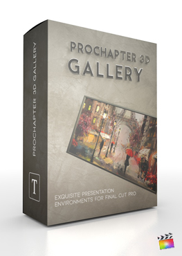 Final Cut Pro X Plugin ProChapter 3D Gallery from Pixel Film Studios