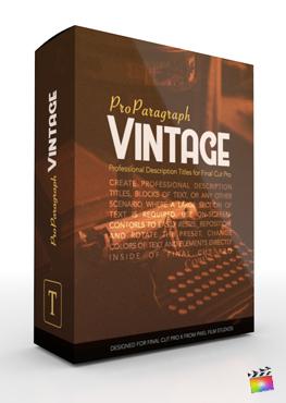 ProParagraph Vintage