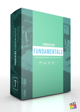 Final Cut Pro X Plugin ProDivide Fundamentals from Pixel Film Studios