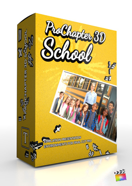 Final Cut Pro X Plugin ProChapter 3D School from Pixel Film Studios