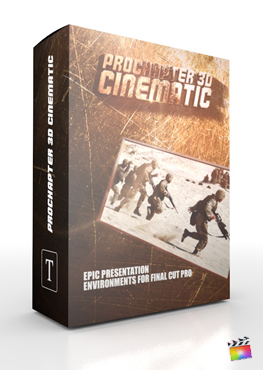 Final Cut Pro X Plugin ProChapter 3D Cinematic from Pixel Film Studios