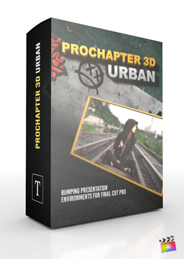 Final Cut Pro X Plugin ProChapter 3D Urban from Pixel Film Studios