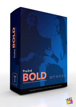 Final Cut Pro Plugin - Pro3rd Bold