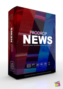 ProDrop News - Professional Backdrops for Final Cut Pro - Pixel Film Studios