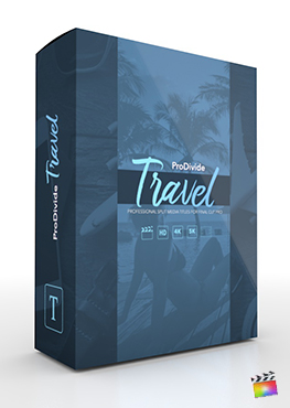 Final Cut Pro Plugin - ProDivide Travel from Pixel Film Studios