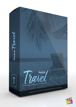 Final Cut Pro Plugin - Pro3rd Travel